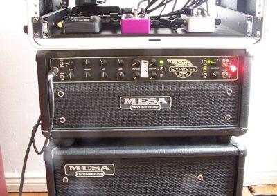 Mesa Boogie Express und Thiele 1 X12 Cabinett