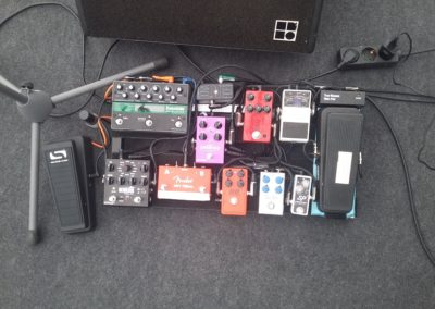Pedal Board Stand August 2017