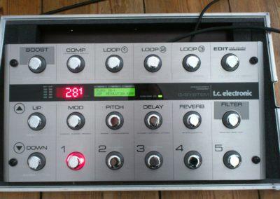 TC Electronics G-System Fernbedienung